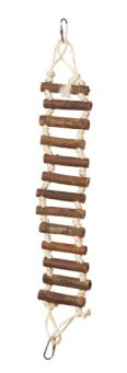 Prevue-Hendryx-62806-Naturals-Rope-Ladder-Bird-Toy