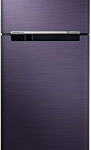 Samsung 253 L 2 Star ( 2019 ) Frost Free Double Door Refrigerator(RT28N3722UT/HL, Pebble Blue, Convertible, Inverter Compressor)