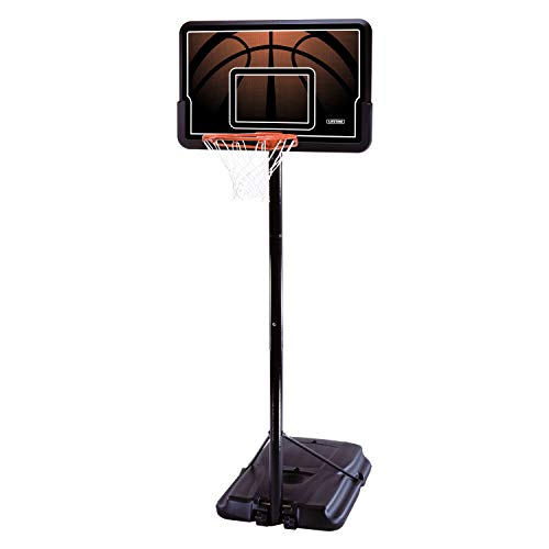 Lifetime 90040 Height Adjustable Portable Basketball System, 44 Inch...