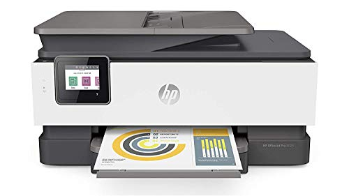 HP OfficeJet Pro 8025 All-in-One Wireless Printer, with Smart Tasks for Home Office Productivity, Instant Ink & Amazon Dash Replenishment Ready (1KR57A)