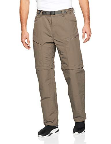 The North Face Men's Paramount Trail Convertible Pants Weimaraner Brown Medium 32