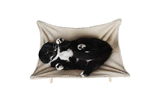 Cat Hammock with Stand | Natural Material Cats Love for Any Cat Lover 3