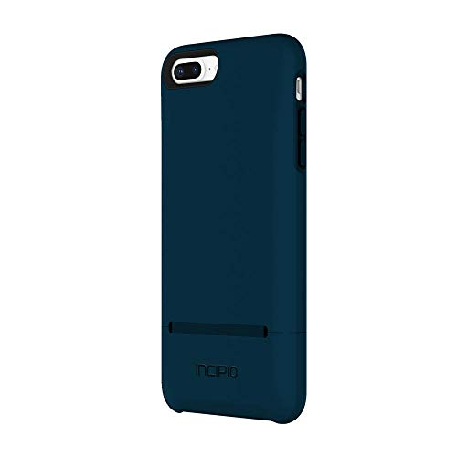 Incipio Stashback iPhone 8 Plus & iPhone 7 Plus Case with Credit Card Slot Holder and Foldable Back Panel for iPhone 8 Plus & iPhone 7 Plus - Black