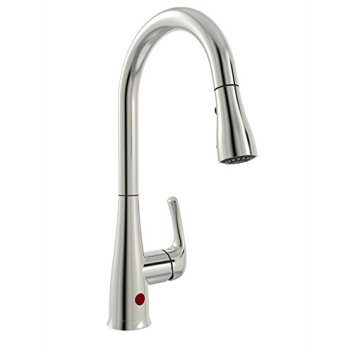 Belanger NEX76CBN 1-Handle Movement Sensor Kitchen Sink Faucet with Pull-Down Spout, Brushed Nickel Finish