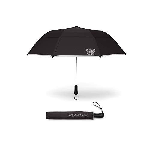 The-Weatherman-Collapsible-Umbrella-Windproof-Umbrella-Resists-Winds-Up-to-55-MPH