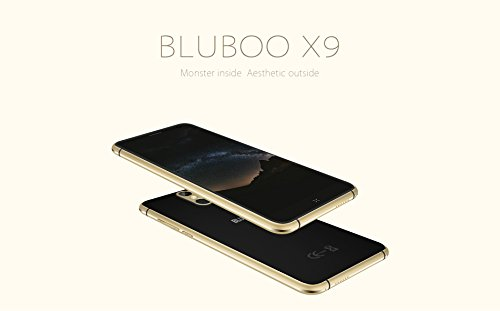 BLUBOO X9 WCDMA GSM Unlocked Cellphone 5.0 Inches FHD 1920*1080 Full lamination Screen MTK6753 64bit Octa Core Android 5.1 OS 3GB RAM 16GB ROM 13.0MP Rear Camera with Fingerprint ID Function