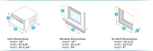 Friedrich-Chill-Series-Window-Air-Conditioner-10000-BTU-CP10G10B-model