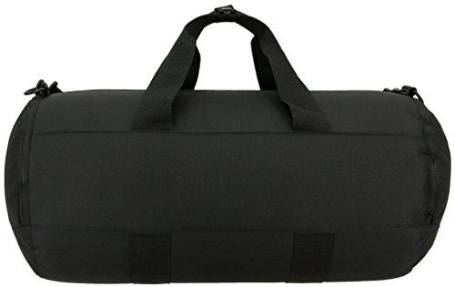 adidas Originals Paneled Roll Duffel Bag, Black, One Size 17 Fashion Online Shop gifts for her gifts for him womens full figure