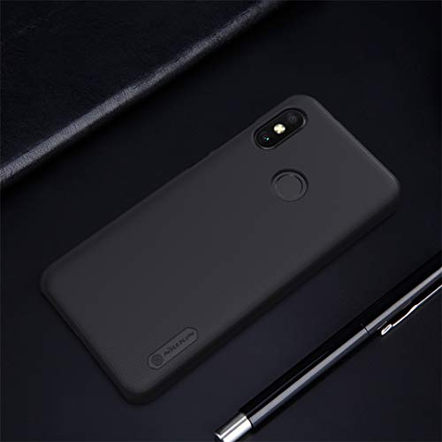 Nillkin Case for Xiaomi Redmi Note 6 Pro Super Frosted Hard Back Cover Hard PC White Color 9