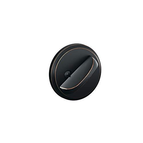 Schlage B80 716 12-287 10-116 134 N N SL One-Sided Deadbolt, Aged Bronze