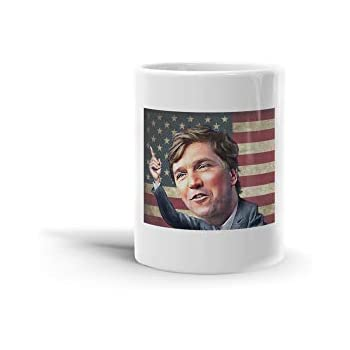 Amazon.com: Tucker Carlson Coffee Mug, Funny, Cup, Tea ...
