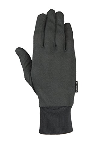 Seirus Innovation 2110 Deluxe Thermax Winter Cold Weather Glove Liner or Lightweight Glove, Black, Large/X-Large