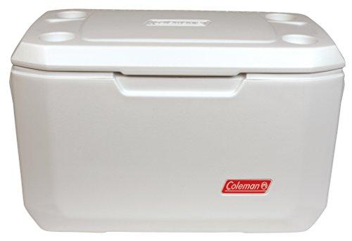 Coleman Coastal Xtreme Series Marine Portable Cooler, White, 70 Quart