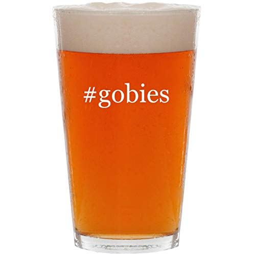 #gobies - 16oz Hashtag All Purpose Pint Beer Glass