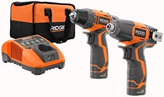 Ridgid 12-volt Hyper Lithium-ion Drill/driver and Impact Driver Combo Kit