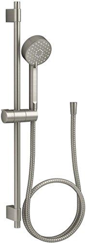 Kohler K-98361-BN Awaken G90 Multi-Function Handshower with Slide Bar Kit, Vibrant Brushed Nickel