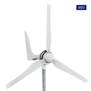 Automaxx Windmill 1200W 48V 21A Wind Turbine Generator kit. MPPT charge controller included (Amp, Volt & Watt display) + automatic and manual braking system. DIY installation.