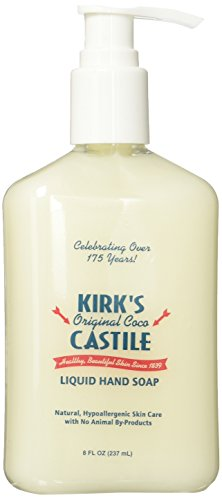Kirk's Natural Liquid Hand Soap - Case of 1 - 8 oz.