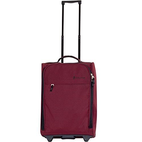 CALPAK Zorro 20-inch Washable Rolling Carry-On Upright Suitcase