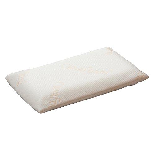 Clevamama Foam Baby Pillow (Clevafoam, Cream)