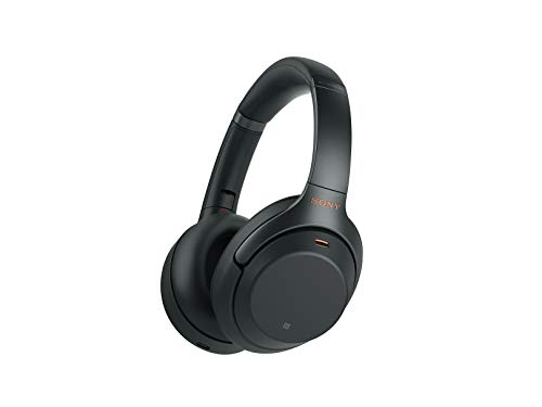 Sony WH1000XM3 Noise Cancelling Headphones, Wireless Bluetooth Over the Ear Headset – Black (2018 Version) 1