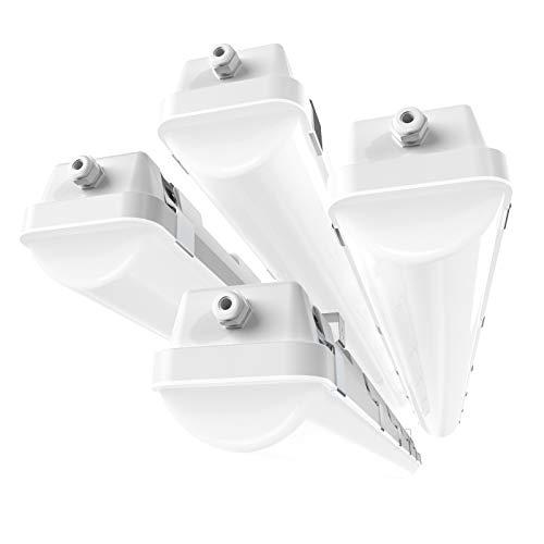 HYPERLITE-4FT-LED-Vapor-Tight-Light-Fixture-40W-Shop-Lighting-4-Pack-5200LM-5000K-Outdoor-Waterproof-LED-Vapor-Proof-Light-Fixture-IP65-UL-Approved-110-277Vac-Input-Voltage