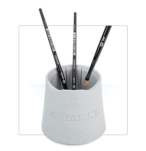 Citadel Water Pot Review: Good Buy or Not? - Citadel water pot recommendation - cleaning your brushes with games workshop citadel products - brush holder and cleaner