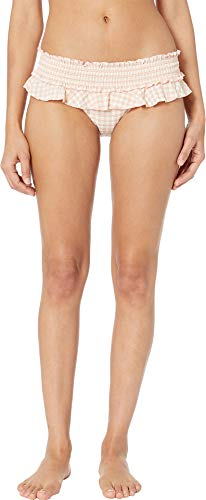 71nP nTd0NL Tory Burch Swimwear Size Chart These boots were made for the beach! Get your groove on seaside in this Tory Burch® Gingham Skirted Bikini Bottom!