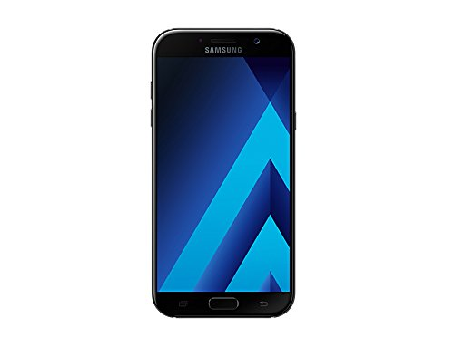 Samsung Galaxy A7 (2017) Factory Unlocked SM-A720F/DS 32GB 3GB Ram Dual Sim 4G LTE USA Caribbean & Latin International Version (Black Sky)