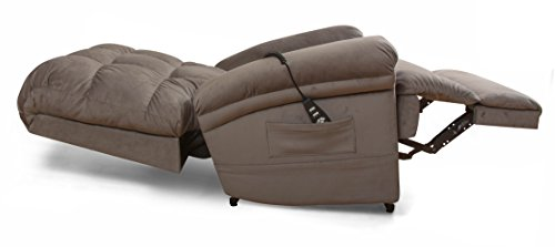 The Perfect Sleep Chair - Lift Chair & Medical Recliner – DuraLux II Microfiber - Chocolate (Brown)