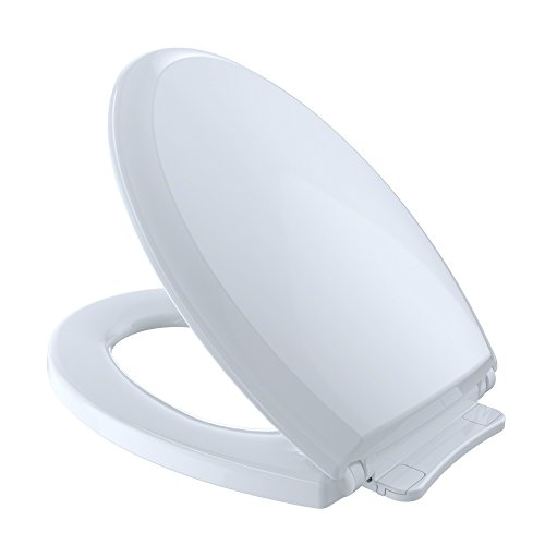 TOTO SS224#01 Guinevere SoftClose Elongated Toilet Seat, Cotton White