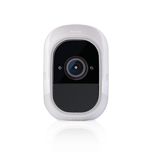 Arlo Pro 2 - (1) Add-on Camera   Rechargeable, Night vision, Indoor/Outdoor, HD Video 1080p, Two-Way Talk, Wall Mount   Cloud Storage Included   Works with Arlo Pro Base Station (VMC4030P)