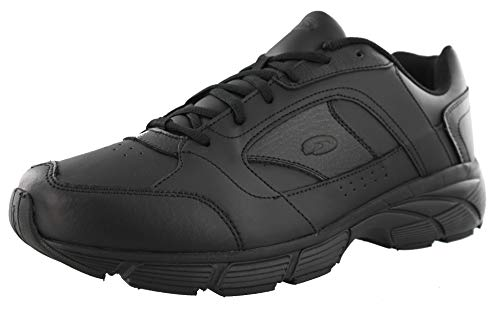 Dr. Scholl's Men's Warum Athletic Wide Width Walking Shoes (11.5 2E US, Black)