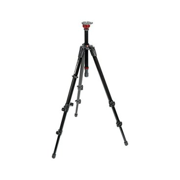Manfrotto-755XB-MDEVE-Aluminum-Tripod-with-Built-in-50mm-Ball-LevelerBlack