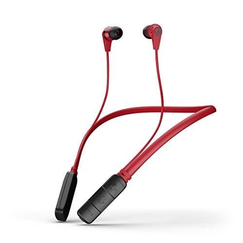 31PBrGPHbYL Skullcandy Ink'd Wireless in-Earphone with Mic (Red/Black/Black)
