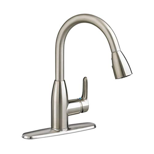 American Standard 4175300F15.075 Colony Soft PULL-DOWN Kitchen Faucet with 1.5 gpm Aerator, Stainless Steel
