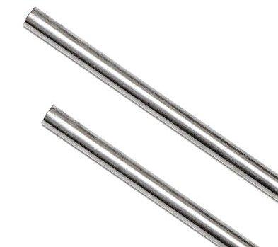 416 Stainless Steel Rod 3/16' Diameter 6' long Pin Stock for knife handle material, bolsters, metal craft & metal working hobbies, Set of 2 Pieces