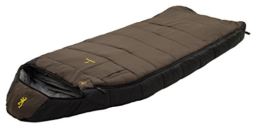 Browning Camping McKinley -30° Rectangle Hooded Sleeping Bag