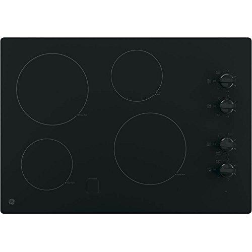 GE JP3030DJBB 30' Black Electric Smoothtop Cooktop