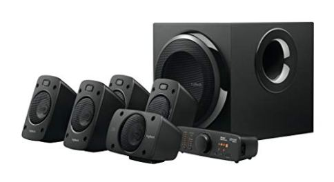 Logitech-Z906-51-Surround-Sound-Speaker-System-THX-Dolby-Digital-and-DTS-Digital-Certified-Black