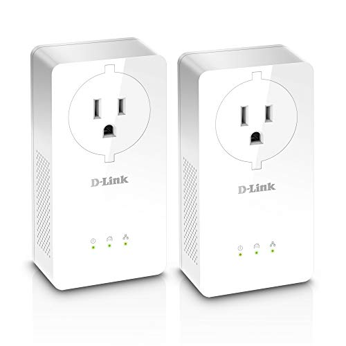 D-Link Powerline 2000 Mbps, 1 Gigabit Port with Pass-Through (DHP-P701AV)