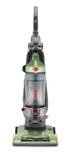 HOOVER T-Series WindTunnel Rewind Plus Upright Vacuum Cleaner, with HEPA Filtration, Lightweight and Corded, Green, UH70120