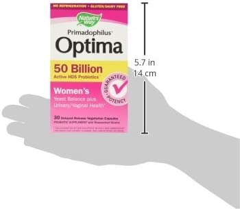 Fortify Optima Women's Daily Probiotic, 50 Billion Live Cultures, 7 Strains, 30 Capsules 11