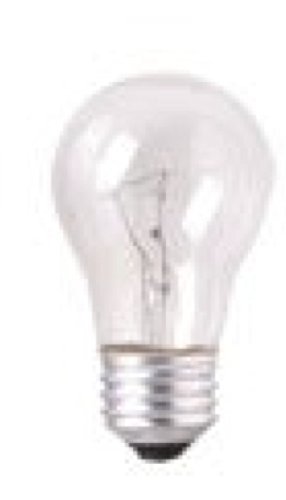 Appliance Light Bulb, 40 Watt, Clear Incandescent