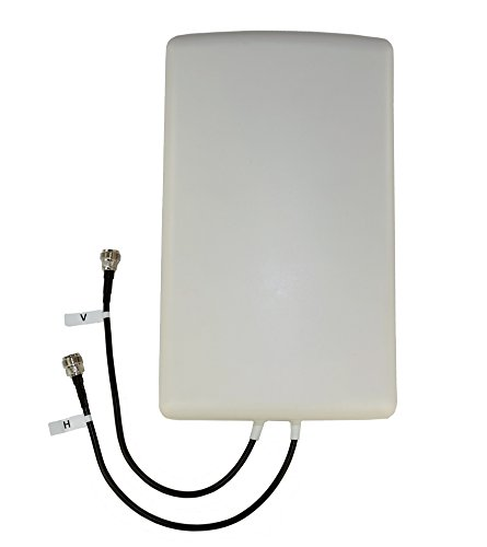 Proxicast 4G / LTE Cross-Polarized (MIMO) 7-10 dBi High-Gain Fixed-Mount Panel Antenna