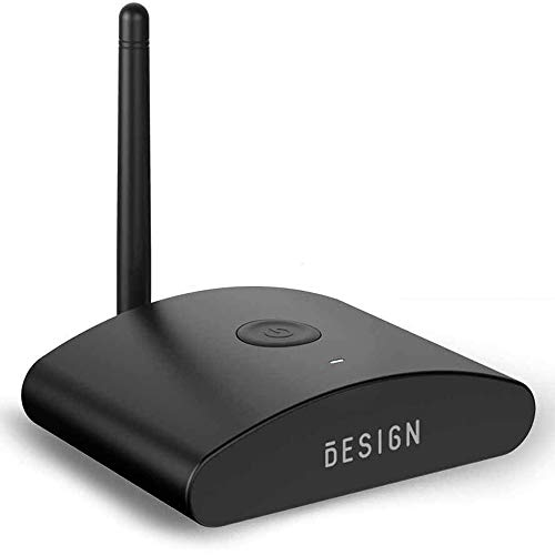 Besign BE-RX Long Range Bluetooth Audio Adapter, Wireless Home HD Music Receiver for Music Streaming, Aptx, Support Optical, Coaxial & 3.5mm Audio