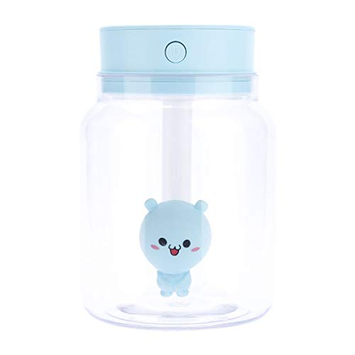 GETADATE Mini Desktop humidifier Candy jar Mini humidifier USB Large Capacity Small air humidifier Small Atomizer