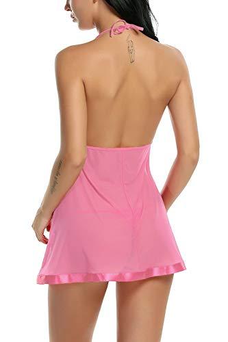 Xs and Os Combo Offer! Women Babydoll Nightwear Lace Bra Panty Lingerie Set