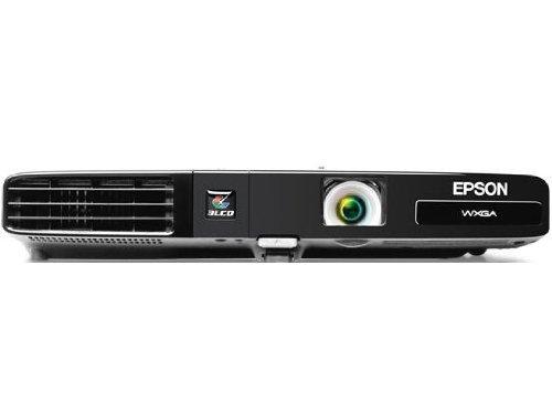 Epson PowerLite 1761W, WXGA, Wireless, 2600 Lumens Color Brightness, 2600 Lumens White Brightness, Ultra Lightweight 3LCD Projector