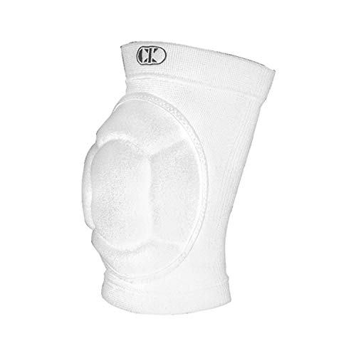 Cliff Keen Impact Bubble Kneepad-White/Charcoal